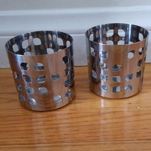 Candle holders 2 pack